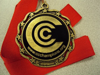 God gave us a medal reward system.