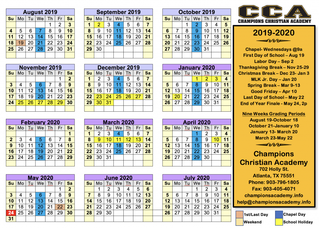 Atlanta Calendar - January 14-15 2020 Calendar » Christ Centered Missions